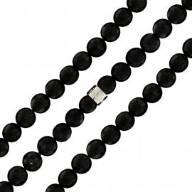 Onyx Facet-geslepen Kralen Bracelet MY iMenso 27-0528-185