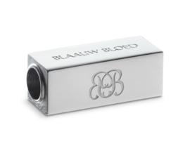 Essential Silver | Lava Kralen Armband van Blaauw Bloed