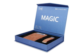 Garzini Gift Box met Java Bruine Magic Wallet en Sleutelhanger