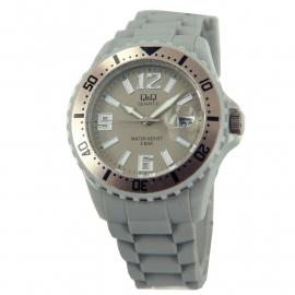 Horloge in de kleur grijs / Q&Q Horloges