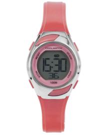 Cool Watch Digitaal Meisjes Horloge met Roze Accenten en Horlogeband