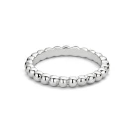 Dots Zilveren Side Ring van MY iMenso