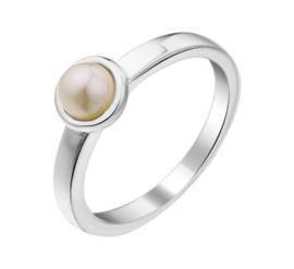 Zoetwaterparel Ring van Zilver voor Kinderen