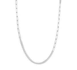 Zilveren Collier met Schakels 4,7 mm 82 cm
