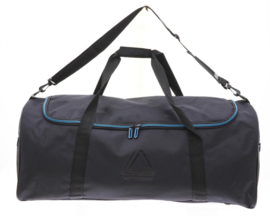 Zwart met Blauwe Travel Bag van Davidts Rapid Air