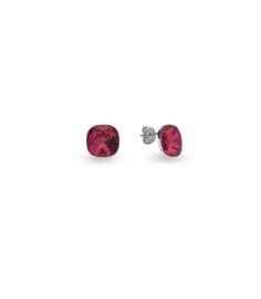 Oorbellen van Spark Jewelry met Indian Pink Swarovski Kristal