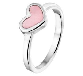 Ring voor Kinderen met Roze Parelmoer
