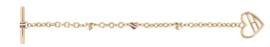 Tommy Hilfiger Armband Goudkleurig TJ2780112