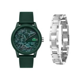 Lacoste Heren Horloge + Gratis Armband t.w.v. € 39,95