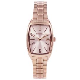 Roségoudkleurig Rechthoekig Klassiek Dames Horloge