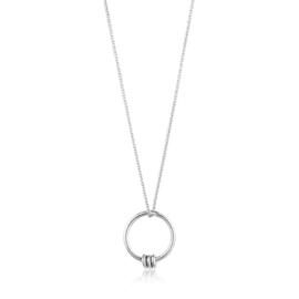 Modern Circle Necklace van Ania Haie
