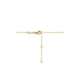 Gouden Collier Kleurstenen 0,9 mm 42 – 44 – 46 cm