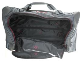 Donkergrijze Charter Bag van Davidts Travel in Grey