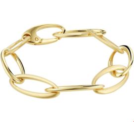 Elegante Geelgouden Anker Armband