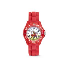 Rood KIDZ Horloge met Brandweer van Colori Junior