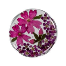 Roze Flora Insignia Munt van MY iMenso