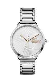 Lacoste Zilverkleurig Lexi Dames Horloge met Schakelband