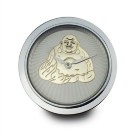 LOCKits Horloge Munt met Goudkleurige Boeddha 33mm
