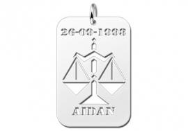 Names4ever Weegschaal Horoscoop Hanger ZHS043