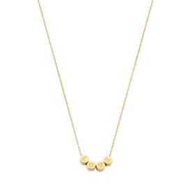 14K Gouden Collier Love 0,8 mm 40 – 42 – 44 cm