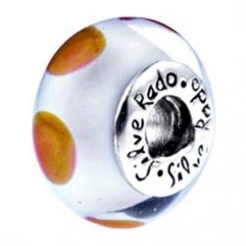 Chelsea - SilveRado Murano Glasbedels CCD14