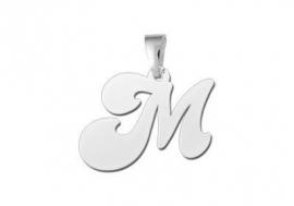 Names4ever Speelse Letter Hanger van Zilver