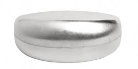 Zilverkleurige Zonnebril Koker