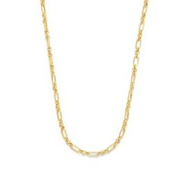 Goudkleurige Dames Collier Anker 3,0 mm 42 cm