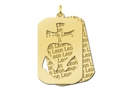 Names4ever Naampatroon GHL Dog Tag GNH12