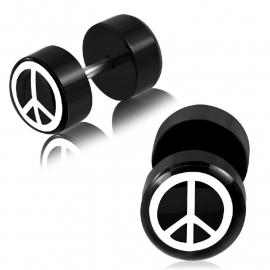 Peace Piercing Oorbel