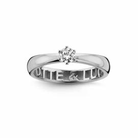 Nomelli Gioia-Ami Ring van Zilver