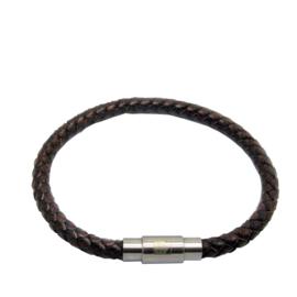 XS4M DISX Mannen Armband van Bruin Leer