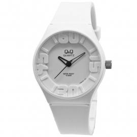 Q&Q wit kunststof horloge
