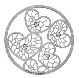 Zilveren Hartjes MY iMenso munt 33-1124