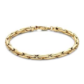 Excellent Jewelry Geelgouden Armband met Dikke Schakels