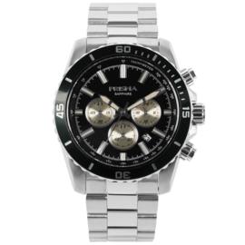 Edelstalen Chronograaf Horloge voor Heren van Prisma