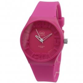 Q&Q roze kunststof horloge