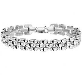 Elegante Zilveren Schakelarmband
