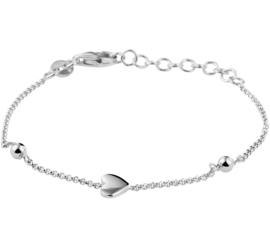 Zilveren Hart Armband voor Kids