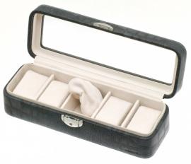 DAVIDTS Horlogebox Caiman zwart antraciet 35780501