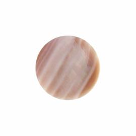 Licht Roze Platte Schelp 24mm Insignia met MY iMenso