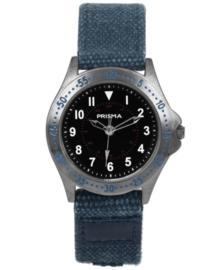 Bolk Jongens Horloge met Blauwe Canvas Horlogeband