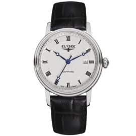 Zilverkleurig Monumentum Dames Horloge van Elysee