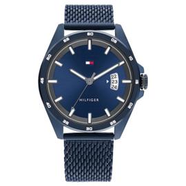 Tommy Hilfiger Donkerblauw Heren Horloge met Milanese Horlogeband