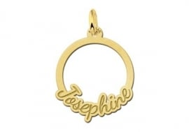 Names4ever Gouden Ronde Communie Hanger