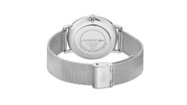 Lacoste Zilverkleurig Moon Heren Horloge met Milanese Horlogeband