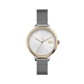 Lacoste Goudkleurig Cannes Horloge met Milanese Horlogeband