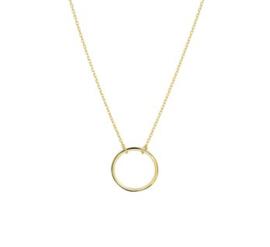Gouden Collier Rondje 13 mm 40 - 42 - 44 cm