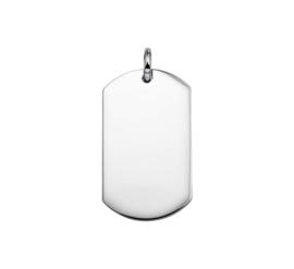 Gepolijste Edelstalen Graveer Hanger 65.05149