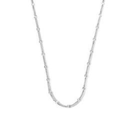 Zilveren Dames Collier Plaatjes 3,0 mm 40 + 4 cm